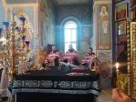 В канун Недели Крестопоклонной Преосвященнейший епископ Николай совершил всенощное бдение в Успенском кафедральном соборе города Салават