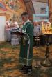 В день отдания праздника Пятидесятницы Преосвященнейший епископ Николай совершил Литургию в Казанском храме села Верхотор