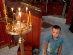 Воспитанники детского сада №1 села Чуваш-Карамалы посетили храм святителя Василия Великого