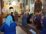 Преосвященнейший епископ Николай совершил вечерню с акафистом в Храме Пресвятой Троицы села Бижбуляк