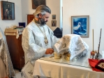 Божественная литургия в храме во имя свт. Василия Великого с. Чуваш-Карамалы Аургазинского района