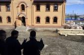 Преосвященнейший епископ Николай совершил первую Литургию в Казанском храме с.Семено-Петровское