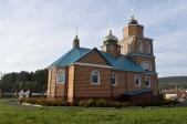 Епископ Николай совершил освящение храма в п. Нугуш