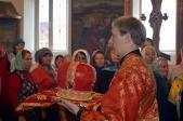 Епископы Илия и Николай совершили Божественную литургию в Марфо-Мариинском женском монастыре