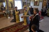 Архипастырское богослужение в селе Мраково
