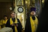 Священнослужитель Салаватской епархии принял участие в богослужении в храме св. прав. Иоанна Кронштадтского при Казанской православной духовной семинарии