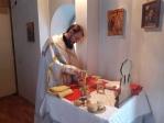 Клирик Успенского Кафедрального собора совершил Божественную литургию в храме с. Шафраново
