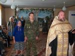 В отделении стационарного социального обслуживания граждан пожилого возраста и инвалидов протоиерей Сергий Ветров встретился с постояльцами дома престарелых