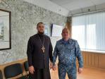 Состоялась рабочая встреча настоятеля храма и врио начальника ФКУ ИК-№4  г.Салават