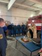 Молебен в пожарно-спасательной части села Ермолаево в день празднования иконы Божией Матери «Неопалимая купина»