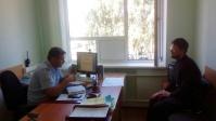Встреча с полковником полиции Елистратовым Ю.В.