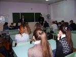 Встреча с учениками школы № 8 в с. Маячный