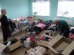 Вещевой пункт помощи нуждающимся в Сибае