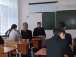 Беседа со школьниками в средней школе № 5 города Мелеуза