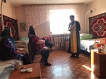 Праздничный молебен в Отделении стационарного социального обслуживания граждан пожилого возраста и инвалидов г. Мелеуза
