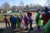 Приключенческая игра и весёлые старты в Воскресной школе «Ковчег» г. Мелеуза