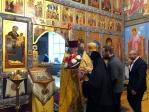 Архипастырское богослужение в с. Верхотор