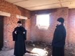 Епископ Николай в ходе Архипастырского визита побывал на территории, выделенной для строительства Никольского храма в п.ШИНГАК-КУЛЬ