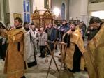 Молебное пение на новолетие в Свято-Успенском кафедральном соборе г. Салавата