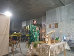 Праздничное богослужение в селе Манеево