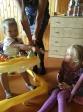 """Новое поступление мам с детьми в Кризисный Центр """"Ярослава"""" села Толбазы. Подготовка к торжественному открытию"""