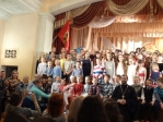 Духовник Воскресной школы Успенского собора принял участие в праздновании 20-летия Воскресной школы Свято-Пантелеимоновского храма г.Уфы