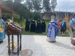 В праздник Бугабашской иконы Божией Матери Преосвященнейший епископ Николай принял молитвенное участие в Литургии, которую возглавил Глава Башкортостанской митрополии