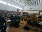 Сход граждан в совхозе Демский Бижбулякского района по поводу установки поклонного креста