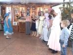 Рождественский утренник Воскресной школы Покровского храма с.Мраково