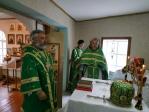 Преосвященнейший епископ Николай совершил Литургию в Троицком храме в с.Новые Карамалы