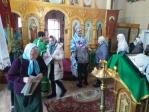 Преосвященнейший епископ Николай совершил Литургию в Свято-Троицком храме села Бижбуляк